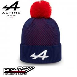 Bonnet à pompon New Era Alpine F1 Team