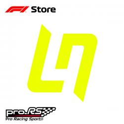 Sticker F1 Lando Norris 4