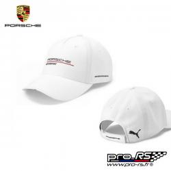 Casquette Porsche Motorsport blanche pour adulte