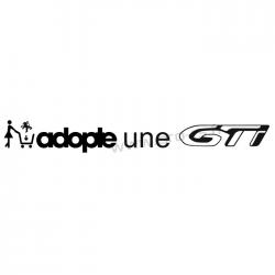 Sticker Adopte une GTi type 208