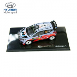 Miniature HYUNDAI MOTORSPORT I20 WRC n°7 1/43ème