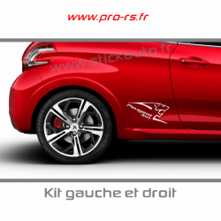 Kit Stickers Peugeot Sport A1