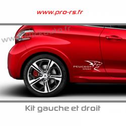 Kit Stickers Peugeot Sport A3