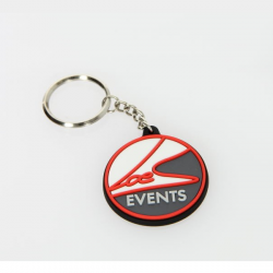 Porte clés LOEB EVENTS Logo noir