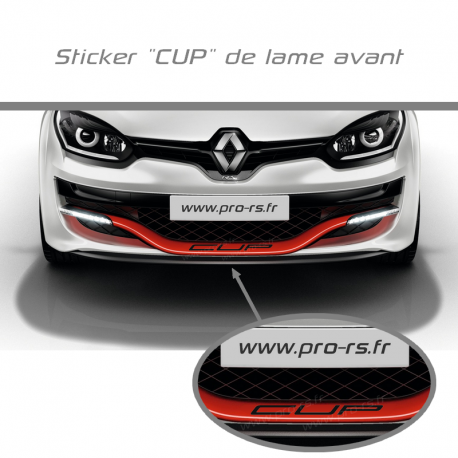 Renault Sticker CUP de lame