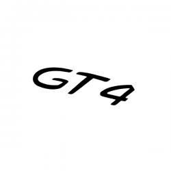Sticker Porsche GT4